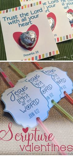 Biblical Valentines Crafts for my Church Ladies <3