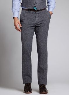 I know it's a dude, but I could do grey leggings with an oxford shirt & my tuxedo vest
