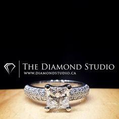 A pavement of diamonds! #diamond #diamonds #wedding #weddings #engagement #ring #rings #bride #brides #jewellery #jewelry #princess #pave #diamondboi