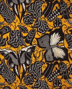 dagobert peche. i love his butterfly print; i have a notebook from the neue galerie that is covered with this very fabric.