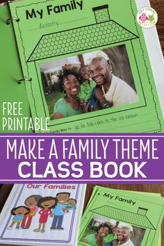 Here is a free family theme printable for you. It is a great activity to add to your Thanksgiving, all about me, or family theme lesson plans. You can even make a class book with the pages. Preschool Family Theme, Preschool Learning, Classroom Activities, Activities About Family, Preschool Parent Board, Summer Activities, Early Learning, Creative Curriculum, Kindergarten Writing