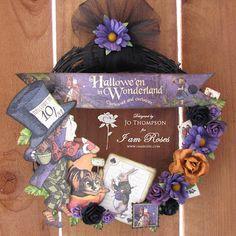 Graphic 45 - Halloween in Wonderland.