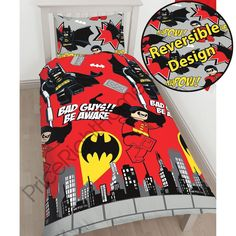 Official lego dc superheroes batman #kapow single #duvet cover set kids #bedding, View more on the LINK: http://www.zeppy.io/product/gb/2/232155279810/