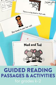Tons of guided reading activities and printable stories for guided reading levels C-J. This bundle is perfect for first grade!
