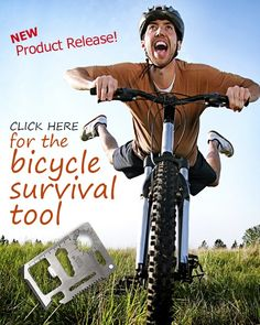 New Product Release: Bicycle Survival Tool