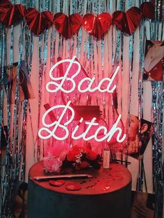 Bing Bang Jewelry Bad Bitch Neon Art Sign - Hot Pink