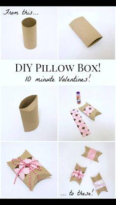 DIY Pillow box