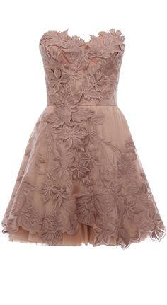 Blush floral dress #Fashion #Style