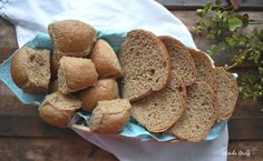 Quick and Easy Sprouted Bread or Dinner Rolls, THM E, Dairy-free | Around the Family Table – Food. Fun. Fellowship Pan Bread, Slice Of Bread, Baking Pans, Bread Baking, Trim Healthy Mama Store, Homemade Apple Butter, Bulk Food, Oat Flour, Instant Yeast