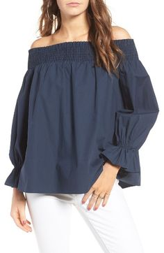 099cd217a8b96 Soprano Bow Off-the-Shoulder Top at Nordstrom.com. A playful bow
