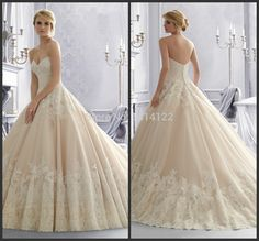2014 Hot sale White Ivory Sweetheart Sleeveless women Bridal Gowns Long Custom Made Ball Gown Wedding Dresses-in Wedding Dresses from Apparel & Accessories on Aliexpress.com | Alibaba Group