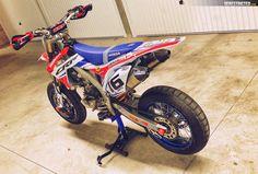 Honda CRF450 Supermoto