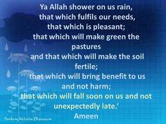 dua for rain