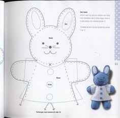 #pattern #template rabbit
