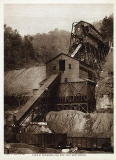 Gary, West Virginia  Coal Mine Tipple, 1918.