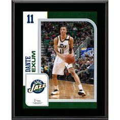 "Dante Exum Utah Jazz Fanatics Authentic 10.5"" x 13"" Sublimated Player Plaque - $29.99"