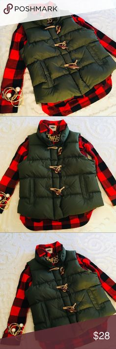 Red Buffalo Plaid Shirt Super cute red and black plaid button down shirt in excellent condition Tops Button Down Shirts