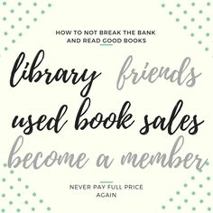 How to read books while not going bankrupt. There are multiple budget-friendly ways.