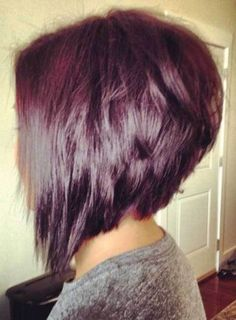 10 More Inverted Bob Cuts to Try Out: #1. Stacked Inverted Haircut