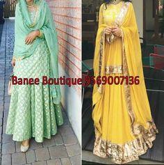 New Punjabi Suit, Anarkali, Bb, Sari, Women's Fashion, Boutique, How To Wear, Outfits, Saree