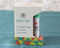 Mommy Katie: #Giveaway Find a Better Way to Clean Your Ears with the OTO-TIP from Clear Ear