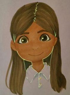 Un maravilloso trabajo de nuestros alumnos los cuales ellos se dibujaron y crearon su propia caricatura. #americasbicultural Disney Characters, Fictional Characters, Disney Princess, Students, Caricature, Artists, Art, Fantasy Characters, Disney Princesses