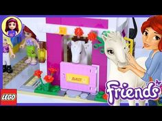 Sunshine Ranch Lego Friends Part 2 Review Build Silly Play - Kids Toys - YouTube