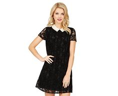 PEARLS AND LACE DRESS: Betsey Johnson