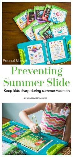 Great tips for preventing the summer slide in kids! Keep their reading and math skills sharp so they're ready to head back to school in the fall.