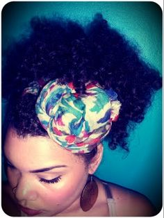 Natural Hair {Scarves}