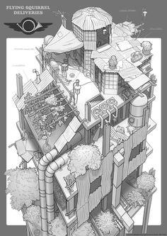 Art by Feng Zhu Design* • Concept Art | ©  FZD School of Design • Blog/Website…