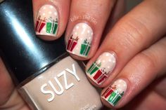 12 Days of Christmas Nail Art Challenge: Wrapping Paper/Presents