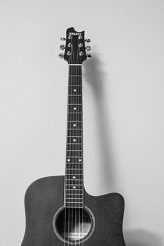 Free stock photo of black-and-white, music, guitar