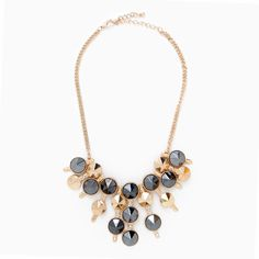 Stud Cluster Necklace