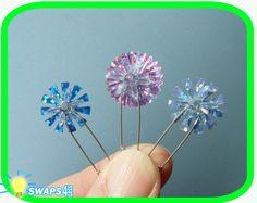 """Sparkle Snowflake Swap""  Scout SWAP Girl Craft Kit-Swaps4Less"