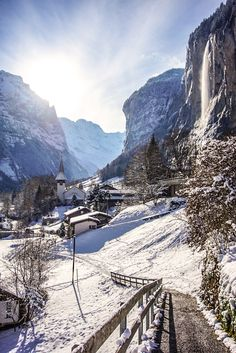 Winter Scenes, Winter Time, Landscape Photos, Nature Photos, Switzerland, Places To See, Countryside, Snowflakes, Skiing