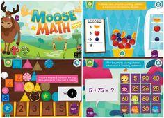 Moose Math - a fun ipad app for math skills!