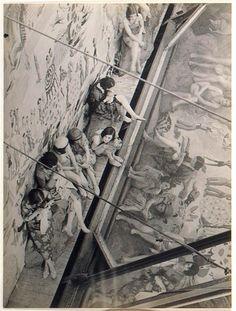 Brassai ~Coulisses des Folies Bergeres,c.1930-32
