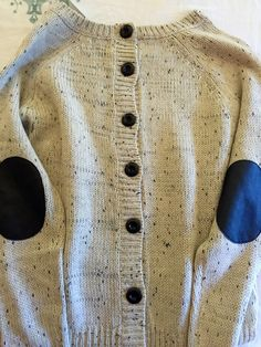 Market and Spruce Cotulla sweater- I love the elbow patches and the buttons!
