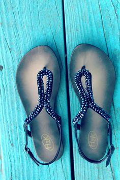 Pandora Sandal Black | Bellum&Roguehttp://www.bellumandrogue.us/collections/shoes/products/pandora-sandal-black  Size 6