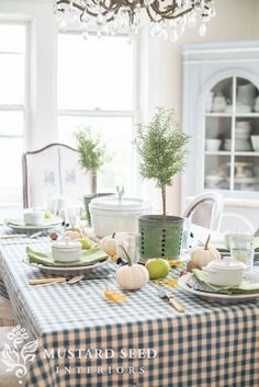 A Harvest Table A Dough Bowl & Succulent Pumpkins  Miss Mustard Pleasing Miss Mustard Seed Dining Room Design Decoration