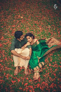 Kerala Wedding Photography! Blend of the Natural Red Carpet and the colour Green!!