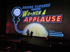 DENISE VASQUEZ : Denise Vasquez Presents WO+MEN 4 APPLAUSE Variety Show Friday March 13th @Inside Jokes Comedy Club Inside the TCL Chinese 6 Theater