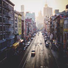 #NewYorkCity #ManhattanBridge #Chinatown | tamarapeterson | VSCO Grid