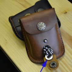 Leather-Case-Waist-Bag-Pouch-for-Catapult-Slingshot-Steel-Balls-Ammo-Games-New