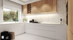 Mieszkanie z miedzianymi dodatkami. - Kuchnia, styl nowoczesny - zdjęcie od Agata Hann Architektura Wnętrz