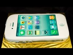 iPhone Cake by Cookies Cupcakes and Cardio - YouTube