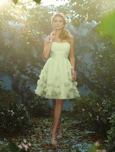 Alfred Angelo pastel bridesmaid dress! I love this dress!!