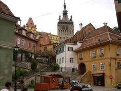 Transylvania: I busted my butt slipping down the stairs of that tower and took out one of my friends with me ; Places Around The World, Oh The Places You'll Go, Cool Places To Visit, Places To Travel, Places Ive Been, Vacation Destinations, Dream Vacations, Vacation Ideas, Home Again
