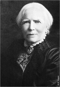 Elizabeth Blackwell, b. 1821, was the first (known) female medical doctor. (An individual known to the world as James Miranda Barry became a doctor in Edinburgh in 1812, but upon his death was discovered to be a woman).